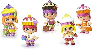 Pinypon Cupcake Cuties Doll Playset (5-Pack ... - Amazon.es