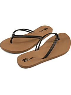 cd2351229 Amazon.com | Volcom Women's Have Fun Dress Sandal | Flip-Flops