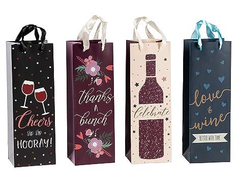 Bolsas de vino - 12 unidades bolsas de regalo de vino para ...