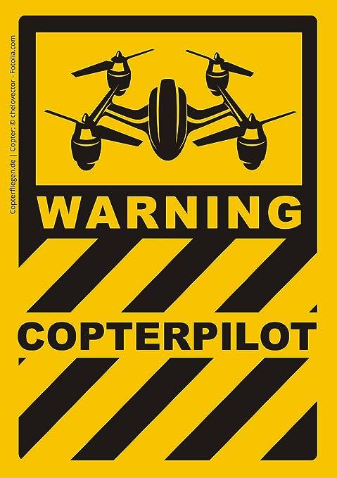 Dasflugbuch De Aufkleber Für Drohnen Und Copter Piloten Set Mit 10 Sticker 5 Motive Witterungsbeständig Badges Für Auto Transportkoffer Koffer Lipo Bag Tolle Geschenkidee Spielzeug