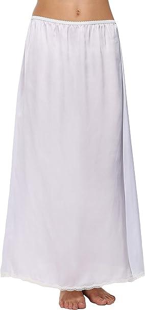 ADOMER Falda para Mujer Cintura Elástica Verano Larga de Playa ...