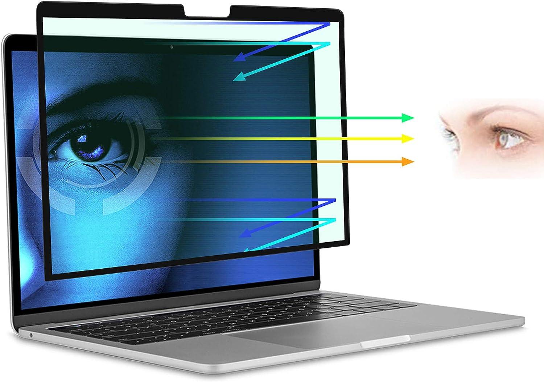 for MacBook Air Screen Protector 13 inch 2021 Anti-Glare Anti-Blue Light Screen Protector,Eye Protection Blue Light Blocking Filter for MacBook Air 13