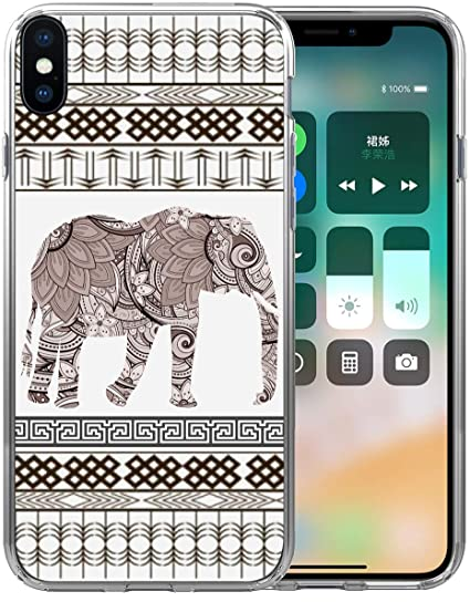 6d04ff7b17f4f Case for iPhone Xs Max Elephant/IWONE Designer Rubber Durable Protective  Skin Transparent Cover Shockproof Compatible for iPhone Xs Max [X Max] 2018  ...