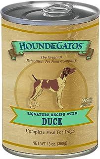Hound & Gatos Grain Free Duck Canned Dog Food - 13 oz (12 can case