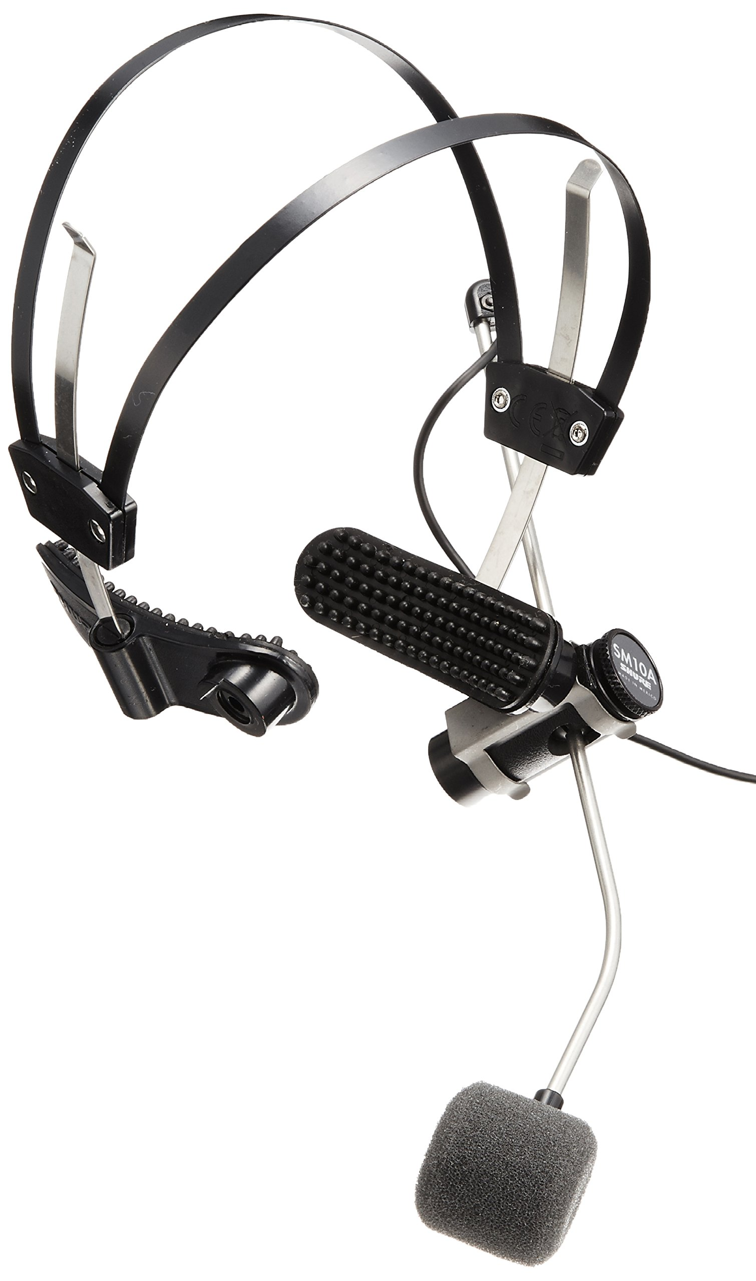 Shure SM10A-CN Cardioid Dynamic, Headworn, includes 5-Feet attached cable with XLR Connector and belt clip