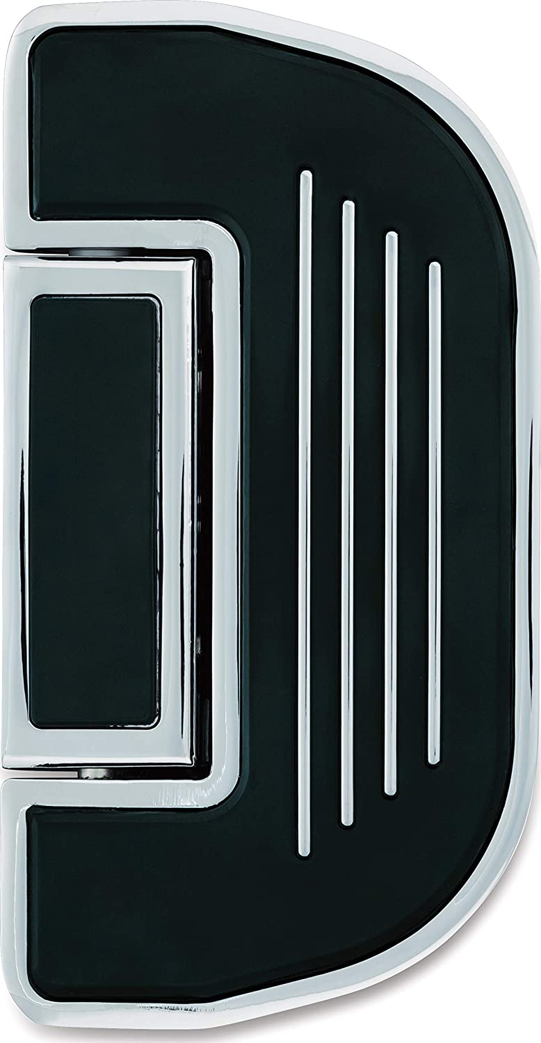 Wrinkle Black Ribbed Folding Boards for Driver or Passenger Floorboards 1 Pair Kuryakyn 4357 Motorcycle Accessory