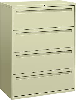 product image for HON 794LL 700 Series 42 by 19-1/4-Inch 4-Drawer Lateral File, Putty