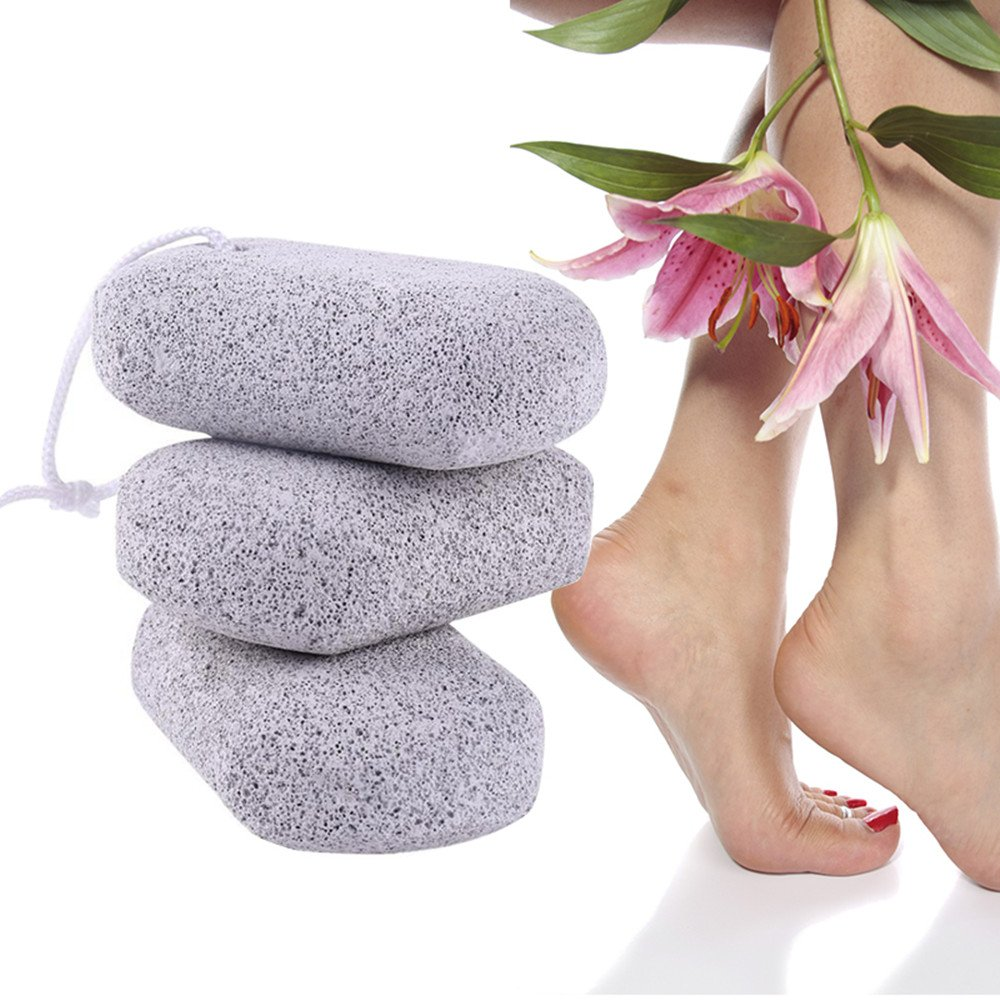 Funwill Foot Clean Hard Skin Callus Remover Scrub Pumice Stone by Funwill