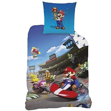 Mario Kart Bettwäsche Kinderbettwäsche Jugendbettwäsche Race