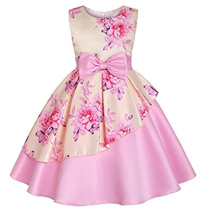 6a7cc7d444e20 Girls Dress Summer Kids Dresses for Girl Princess Children Baby Tutu 2 3 4  5 6 7 8 9 10 Years,As Picture24,10