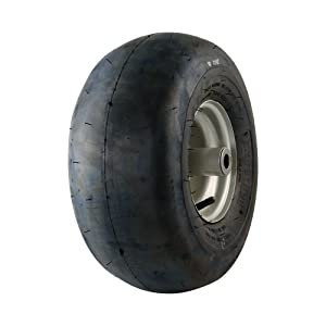 MARASTAR 20406 Universal Fit 15x6.00-6 Lawnmower Tire/Wheel Assembly