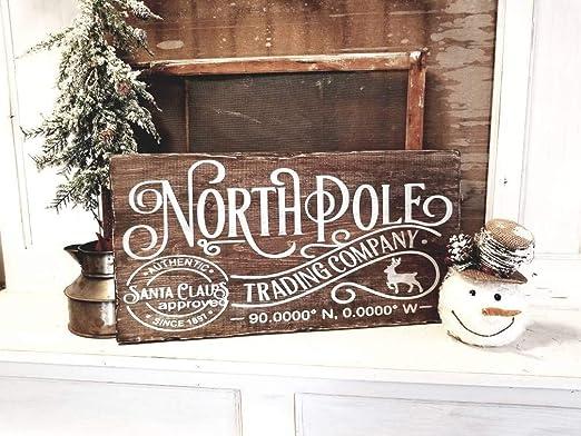 Yor242len - Cartel de la Empresa de Comercio del Polo Norte Estilo ...