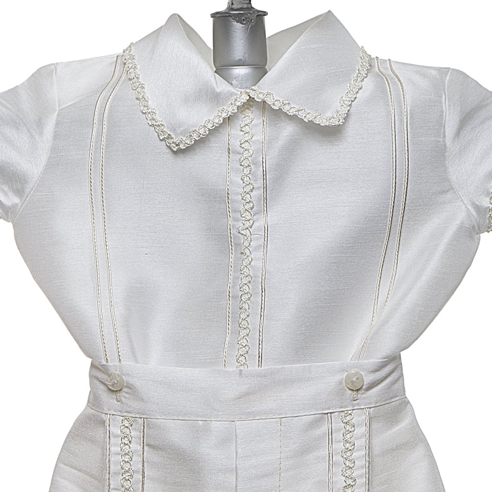 Blessing Outfit 4 Piece Christening Set Details and Traditions Baptism Outfit for Boy Baby Outfit Traje de Bautizo