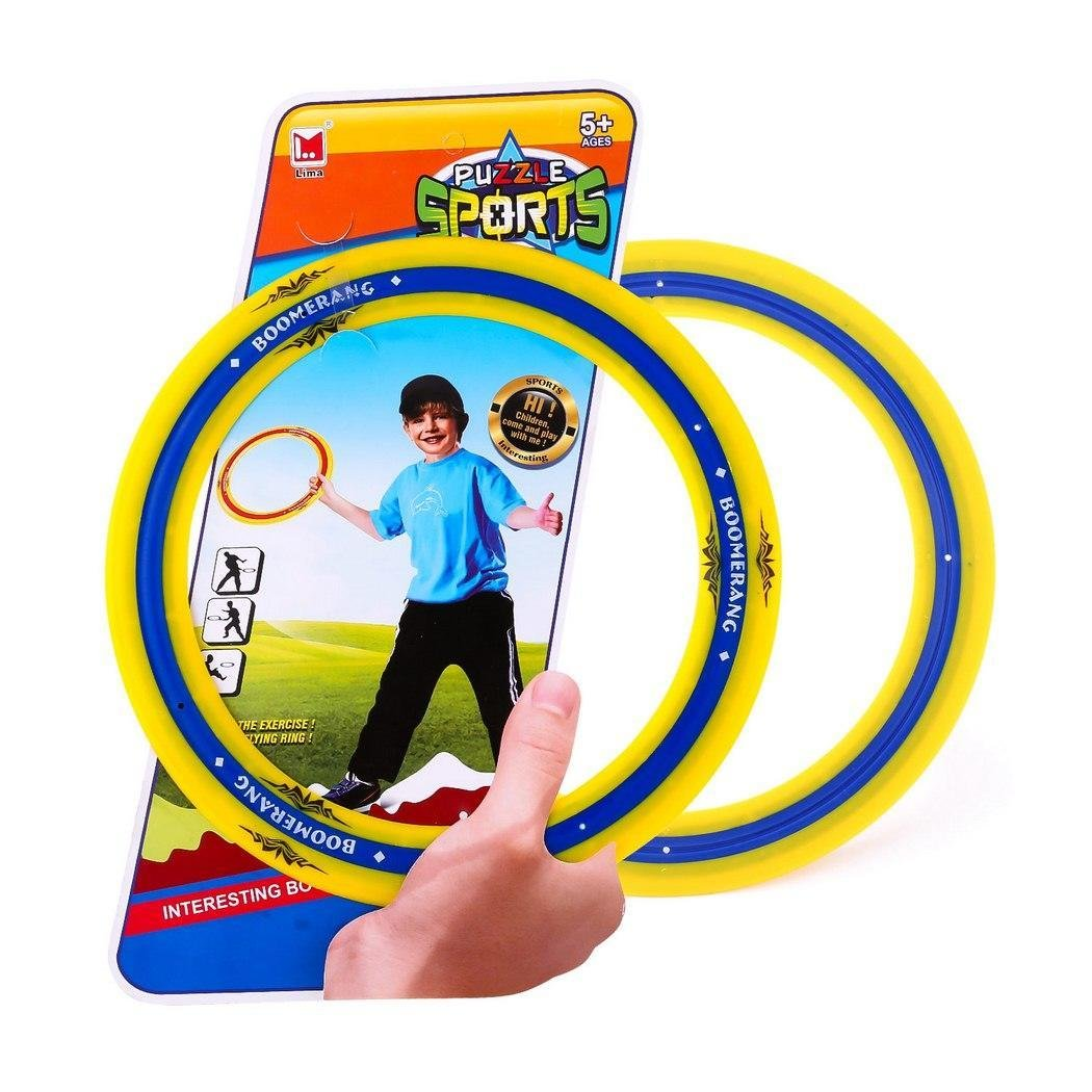 Goodfans Plastic Boomerang Outdoor Puzzle Sports Children Good Play O Shape by Goodfans