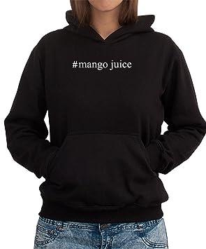Sudadera con Capucha de Mujer #Mango Juice Hashtag: Amazon.es: Deportes y aire libre