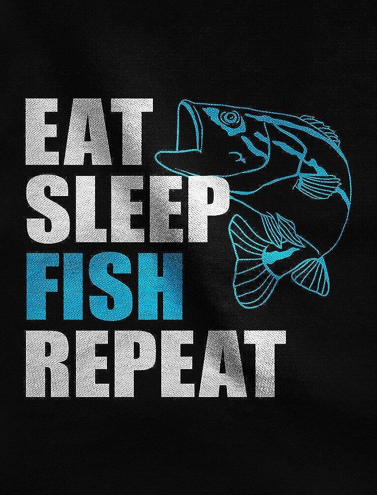 TeeStars Gift for Fisherman Eat Sleep Fish Repeat Fishing Hoodie