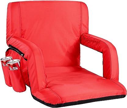 Amazon.com: Sportneer Silla de asiento portátil para estadio ...