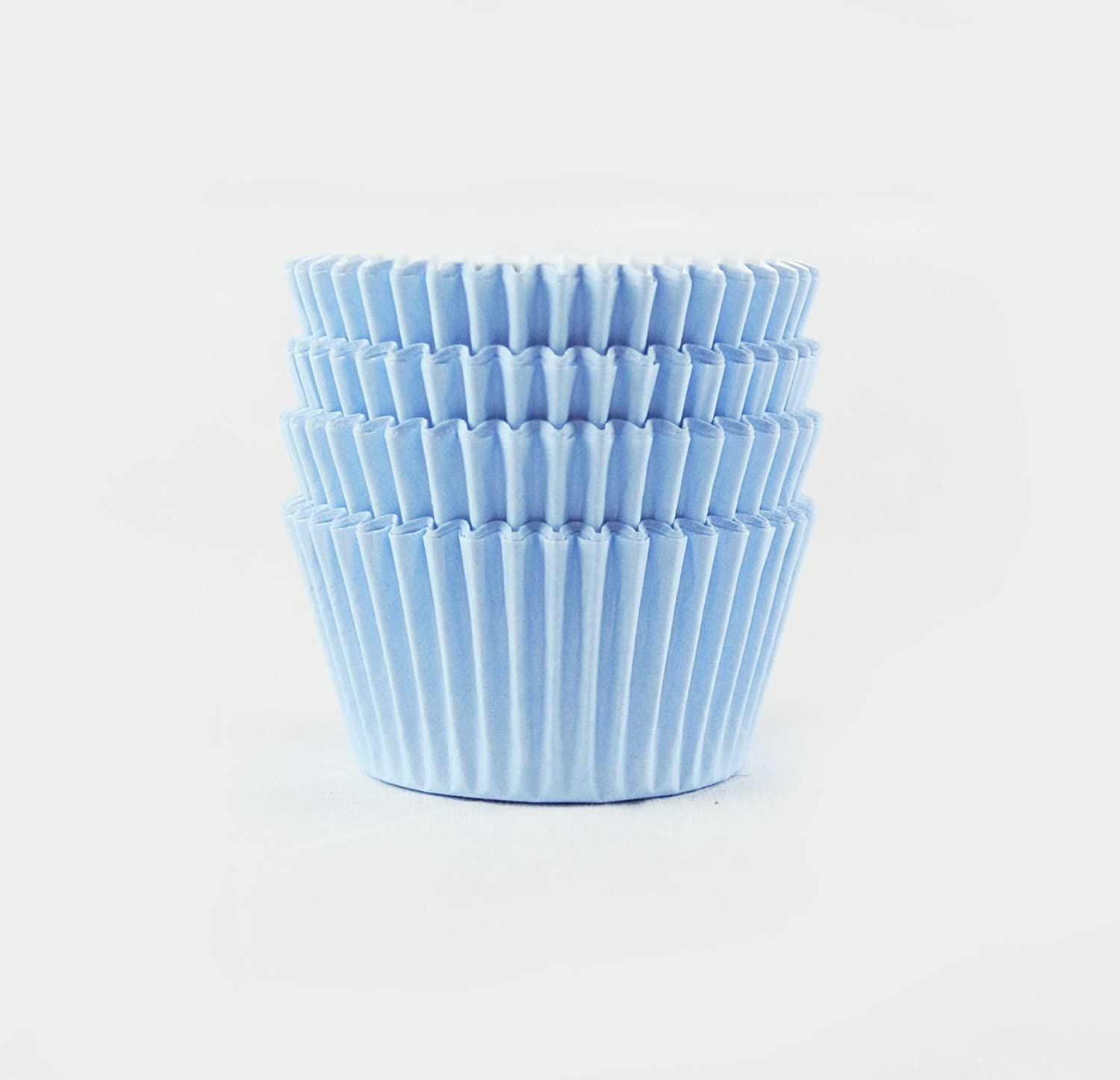 Baby Blue Cup Cake Cases (Pack of 72) Paper Cases