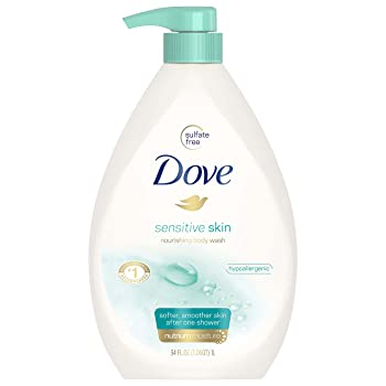 Dove Body Wash, Sensitive Skin