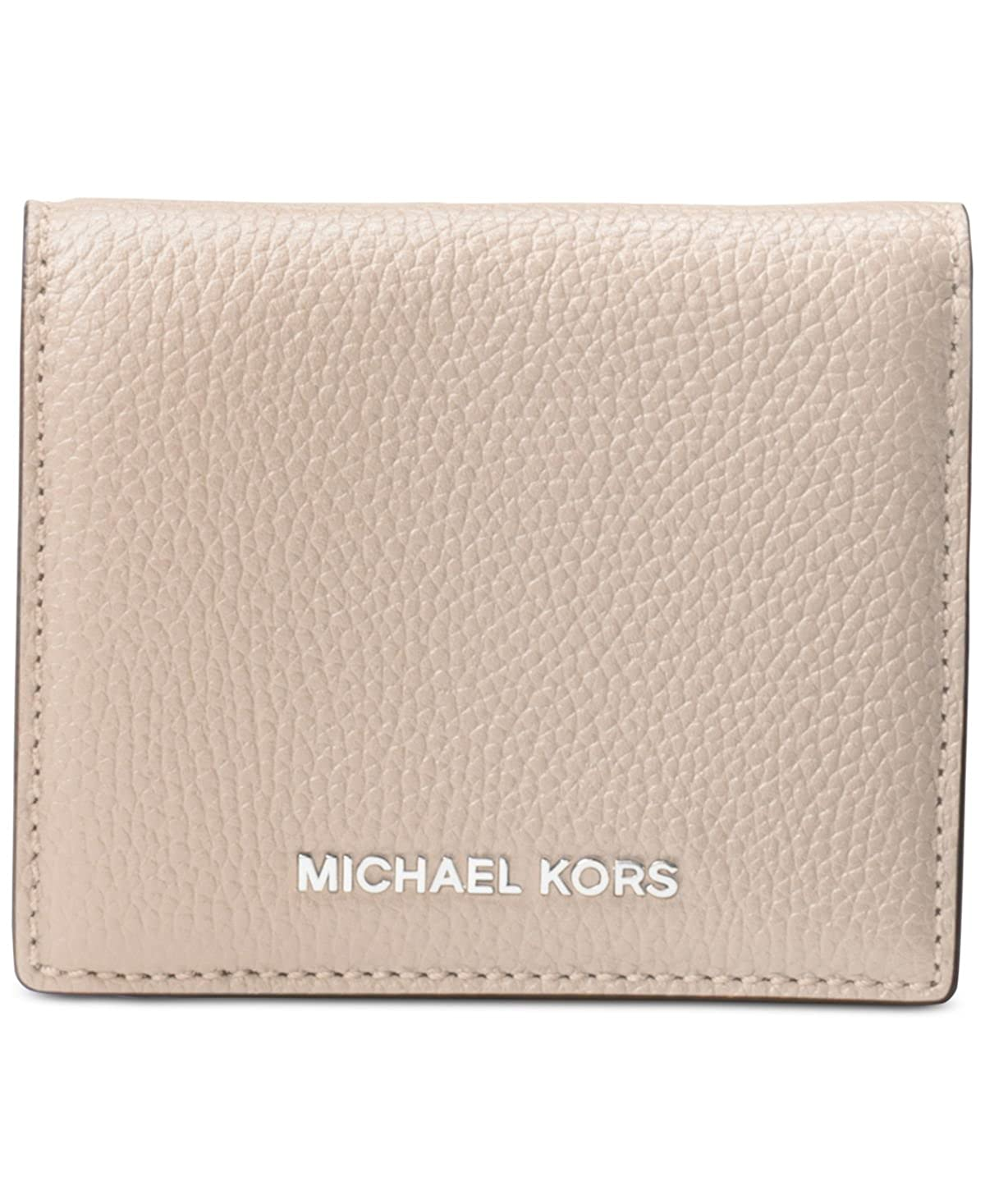 e5308cc9e74e Amazon.com  MICHAEL Michael Kors Mercer Flap Card Holder  Clothing