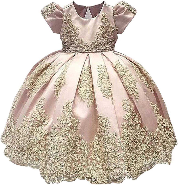 Baby Girls Cotton Sundress Little Princess Dresses 1-6T Little Kid Toddler Baby Girl Diamond Floral Skirt