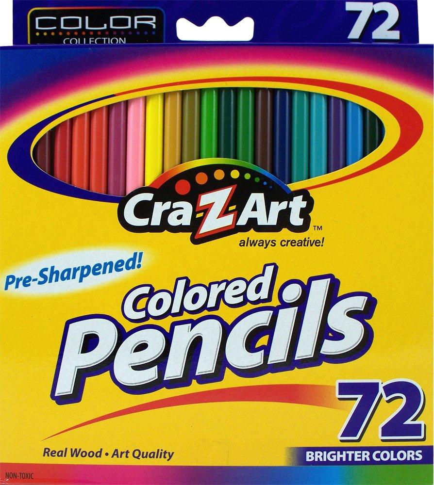 Color art colored pencils - Amazon Com Cra Z Art Colored Pencils 72 Count 10402 Wood Colored Pencils Office Products