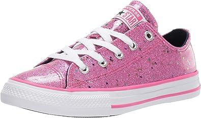 secretamente Curso de colisión préstamo  Amazon.com: Converse Chuck Taylor All Star Galaxy Glimmer Tenis para niños:  Shoes