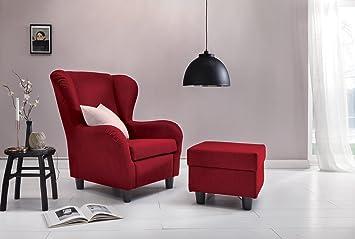 Furniture For Friends Ohrensessel Möbelfreude® Landhausstil Mit Hocker  Savana Cocktail Sessel Wohnzimmer Sessel