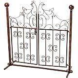 Decorazione cancelli cancello giardino polli ferro antico cancello del giardino