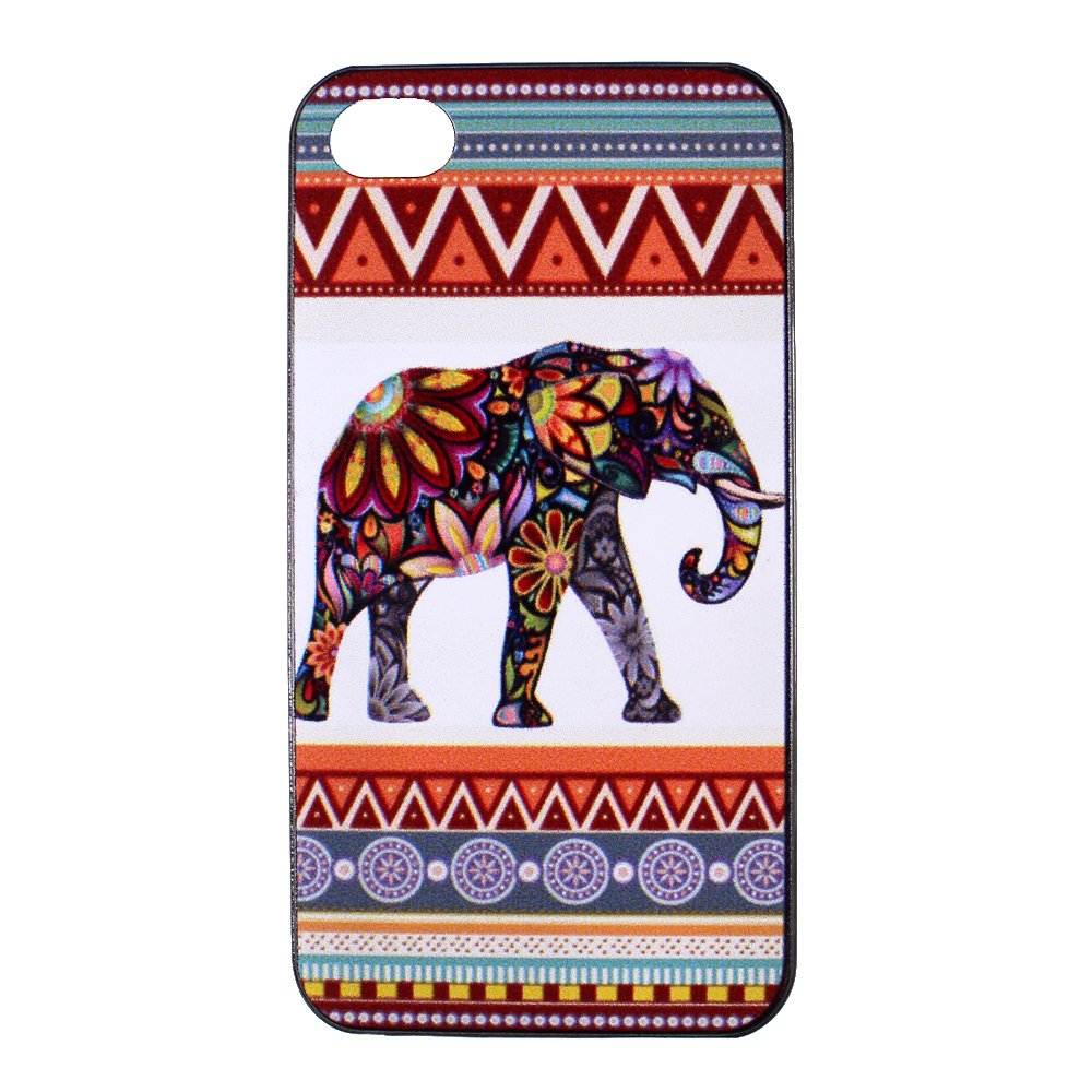 Elephant iphone 4 case - Tribal Aztec Pattern Hard iPhone Case 4s iPhone Cover 4 Hard Case Back Cover 4S 4G 4th