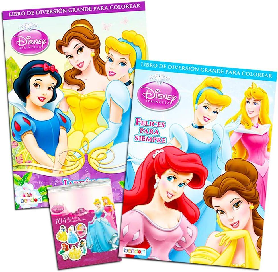 - Amazon.com: Disney Princess Coloring Book Super Set -- Bundle With