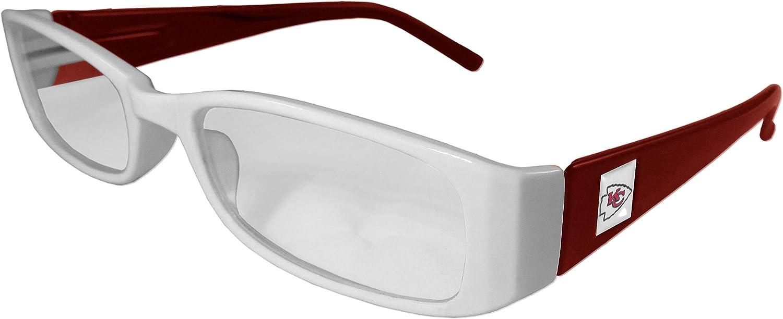 1.50 Glasses Siskiyou NFL Kansas City Chiefs Reading