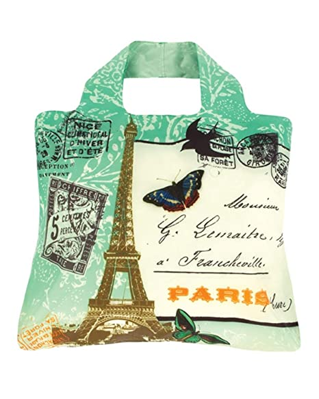 Amazon.com: Envirosax omnisax Paris Bolsa de viaje: Kitchen ...