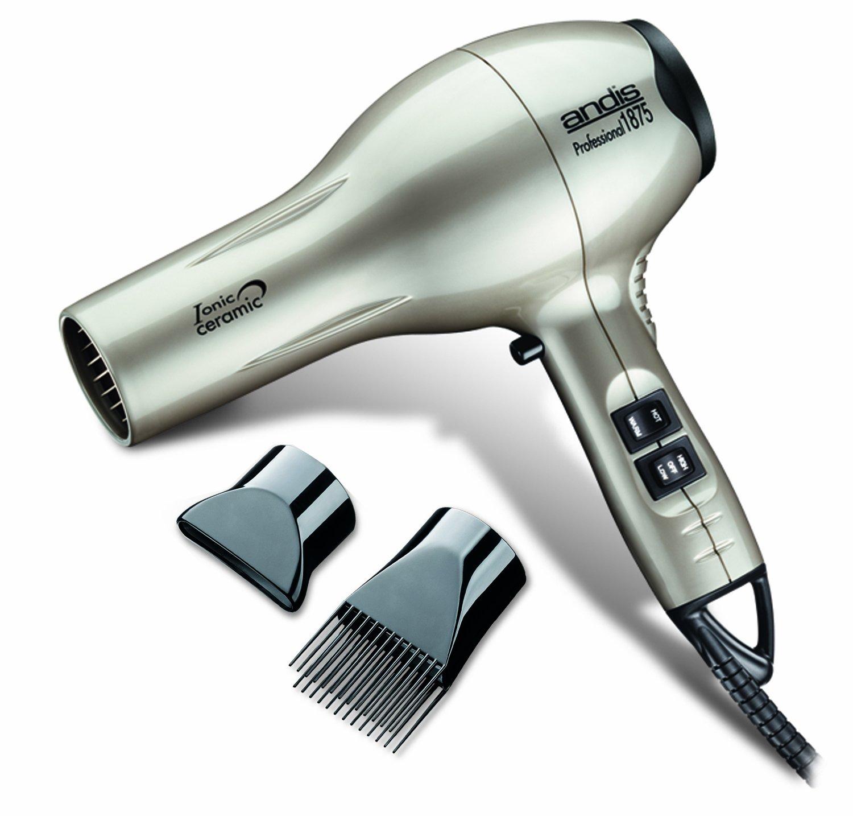 Andis 82310 Professional 1875W Ceramic Ionic Hair Dryer, Beige