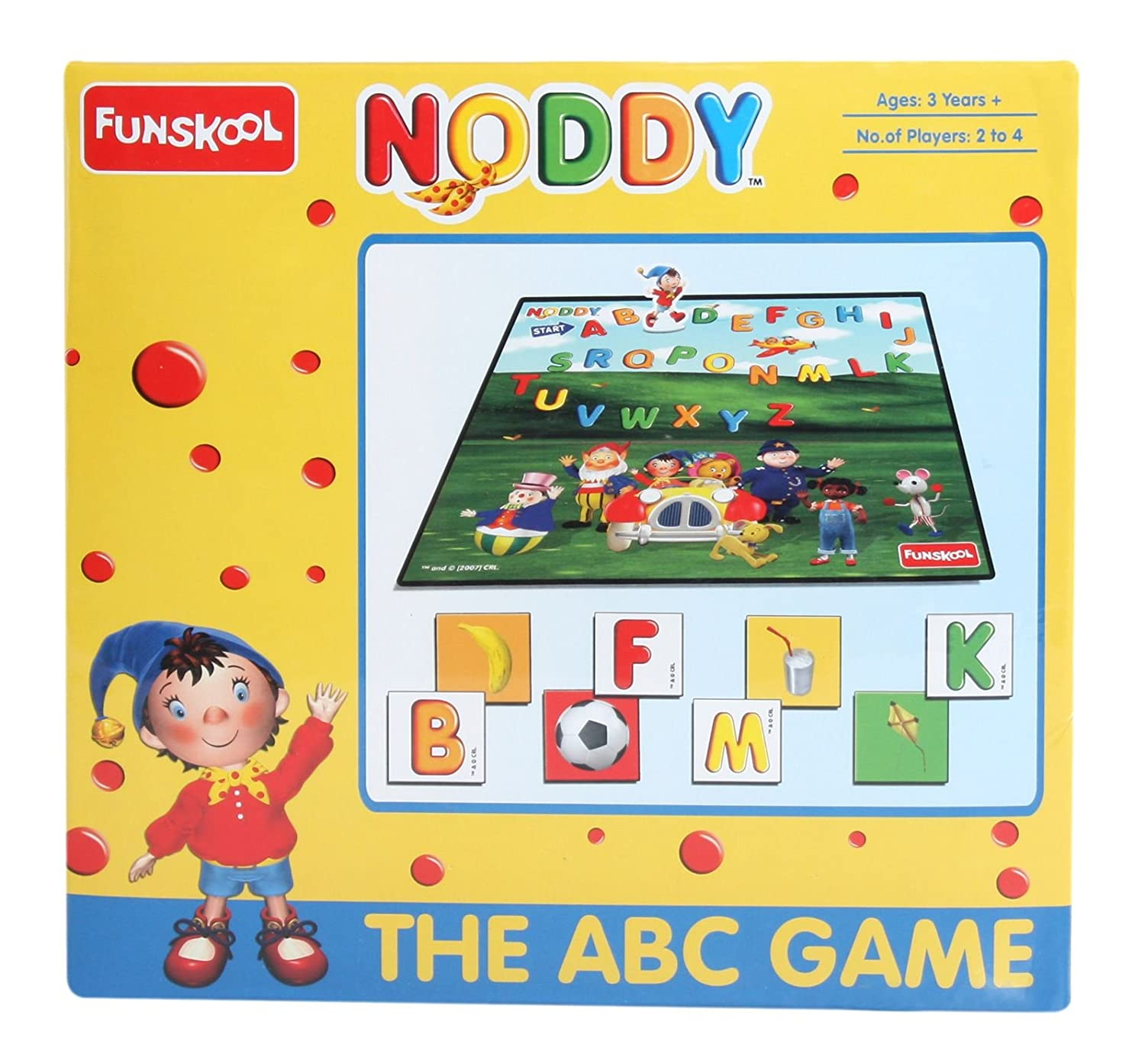Buy Funskool Noddy ABC line at Low Prices in India Amazon