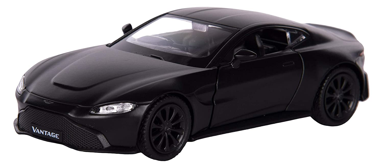 Buy Rmz City Die Cast Pull Back Aston Martin Vantage Matte Black