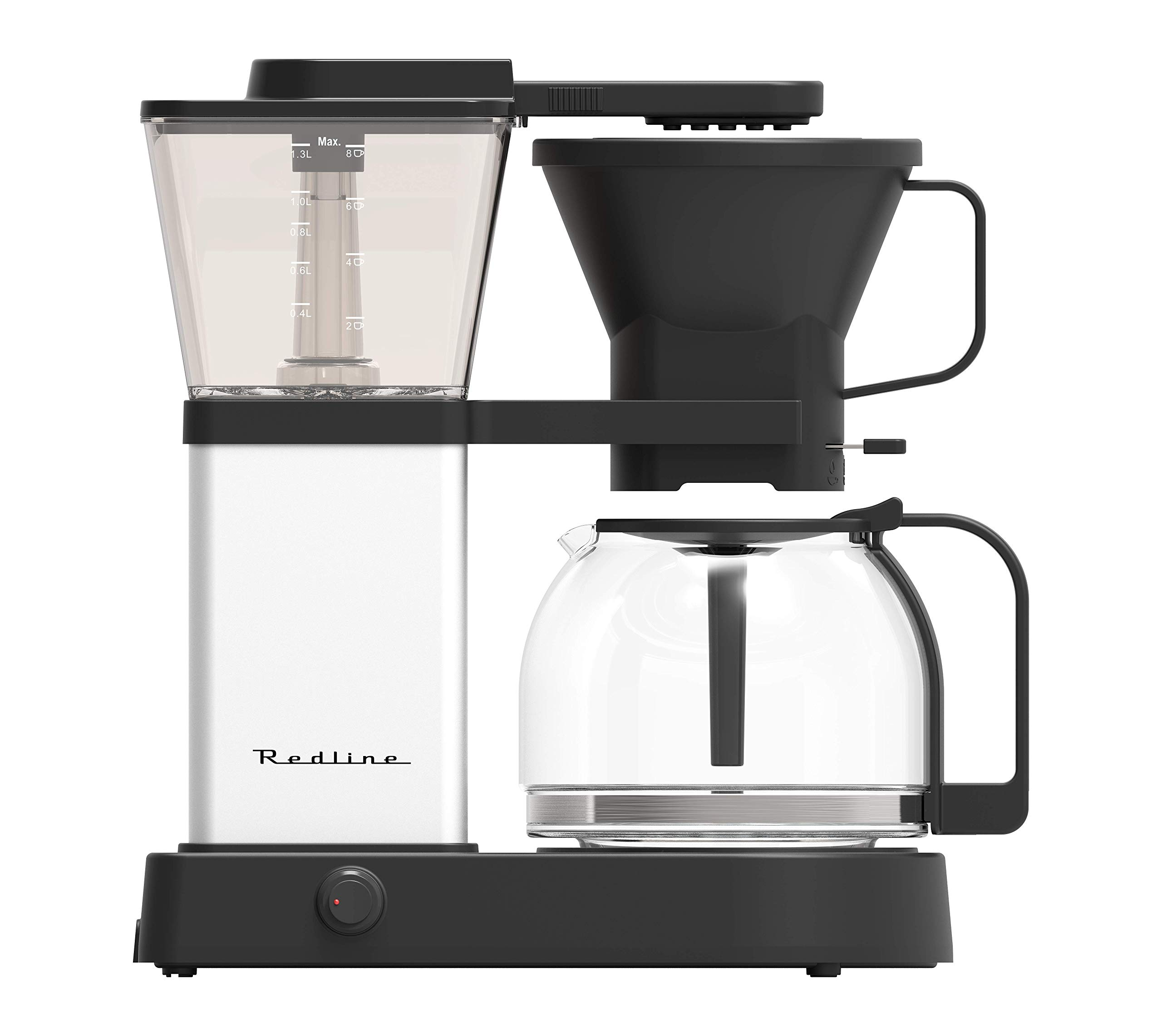 Redline MK1 8 Cup Coffee Brewer with Glass Carafe, Hot Plate and Pre-Infusion Mode (Summer 2018 Refresh) by Redline Coffee (Image #1)