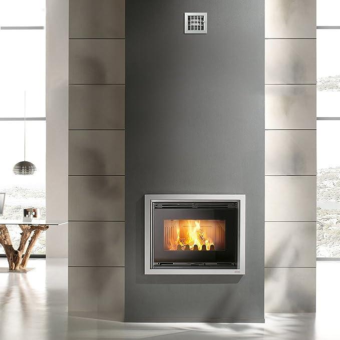 La ventilation gcsial1413100-y Grille encastrable pour chemin/ées 140/x 130/mm aluminium