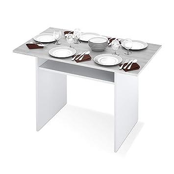 Habitdesign 0L4587A - Mesa Consola desplegable, Mesa de Cocina ...