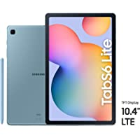 Samsung Galaxy Tab S6 Lite, 64GB, 4GB RAM, LTE, UAE Version - Blue