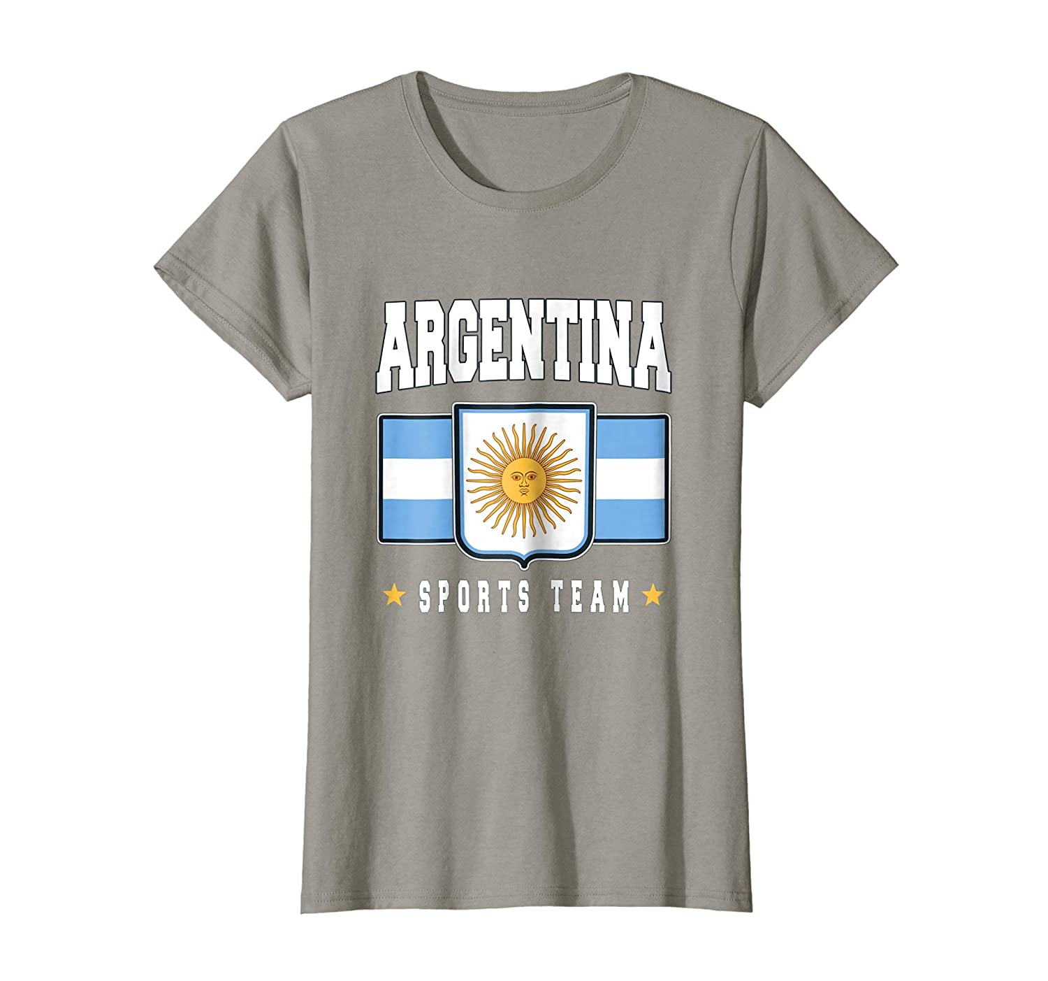 Amazon.com: Argentine T-shirt Argentinian Flag Soccer Futbol Fan Jersey: Clothing