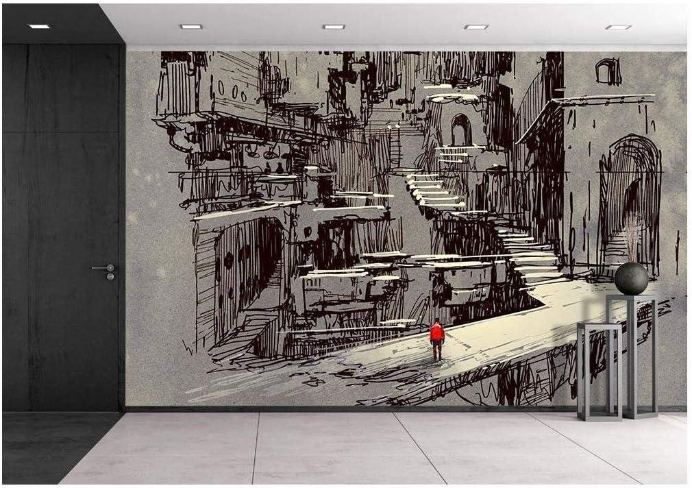 Wall mural print futuristic Wall mural sci-fi photo art Wall mural from photo SKU 20001 Fantastic interioir photo wallpapers