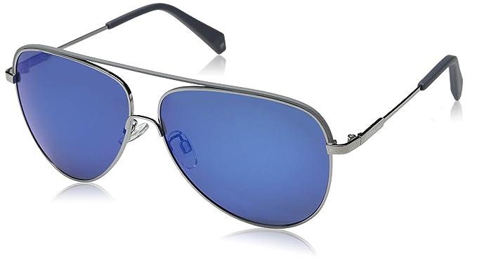 9f7c3d9aa47 Image Unavailable. Image not available for. Color  Polaroid Sunglasses  Men s Pld2054fs Polarized Aviator Sunglasses