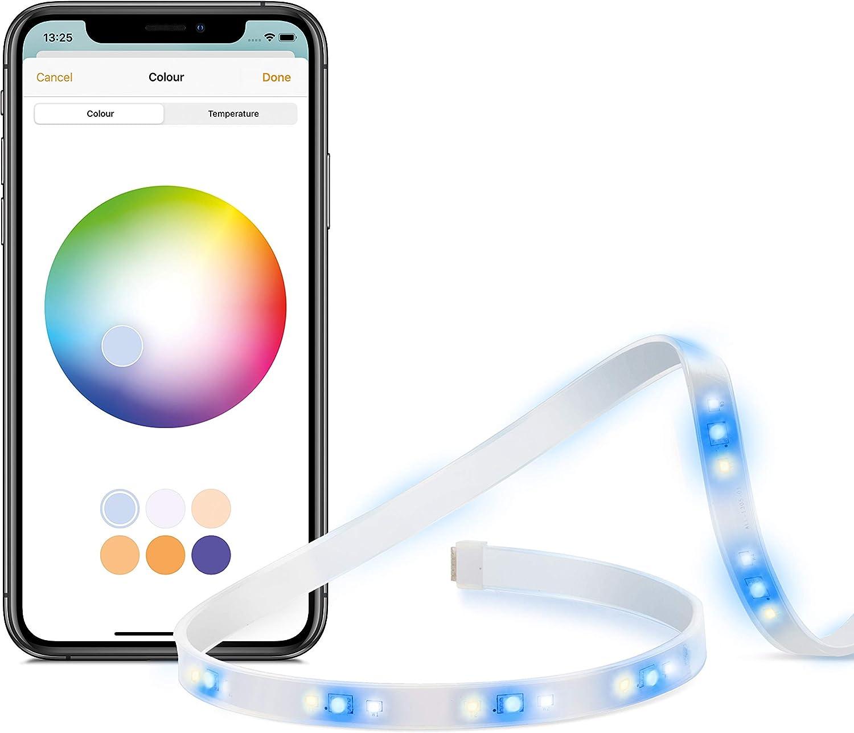 Eve Light Strip - Ruban à LED intelligent, toutes les nuances de...