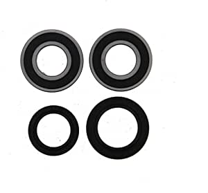 2 25-1088 03-11 Kawasaki KLF250 Bayou 250 All Balls Front Wheel Bearings Seals