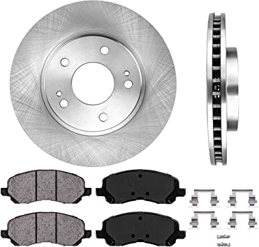 OEM SPEC FRONT REAR DISCS AND PADS FOR MITSUBISHI ASX 2 2010