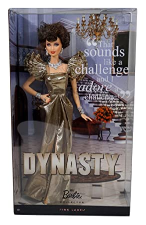 c1457631641d74 2011 Dynasty Barbie Doll - Alexis Colby - Joan Collins  Amazon.co.uk ...