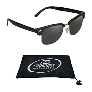 f1d9a7e5374 Image Unavailable. Image not available for. Colour  proSPORT Classic  Reading Sunglasses with Round Horn Rimmed Plastic Frame for Men   Women ...