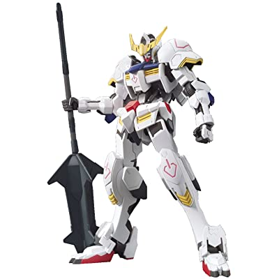 Bandai Hobby HG Orphans Gundam Barbatos Gundam Iron-Blooded Orphans Action Figure (BAN202073): Toys & Games