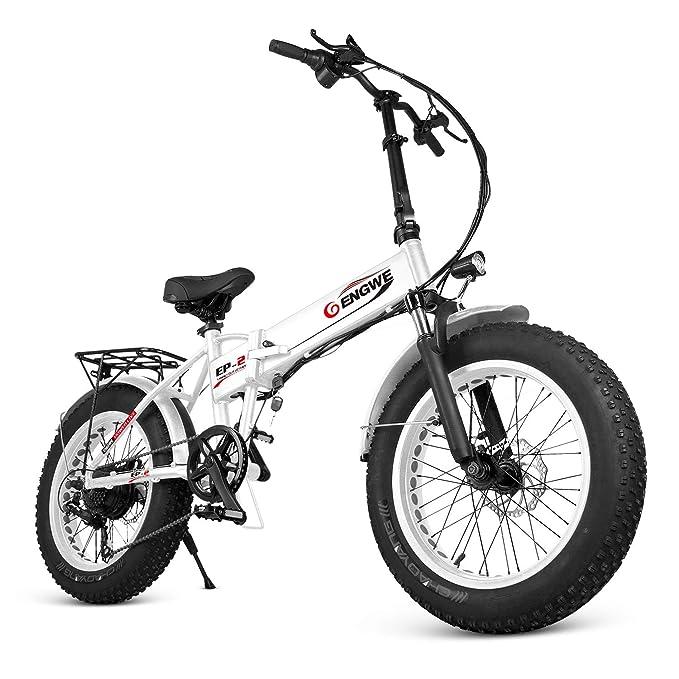 Amazon.com: ENGWE PLID-1 - Bicicleta eléctrica de playa con ...
